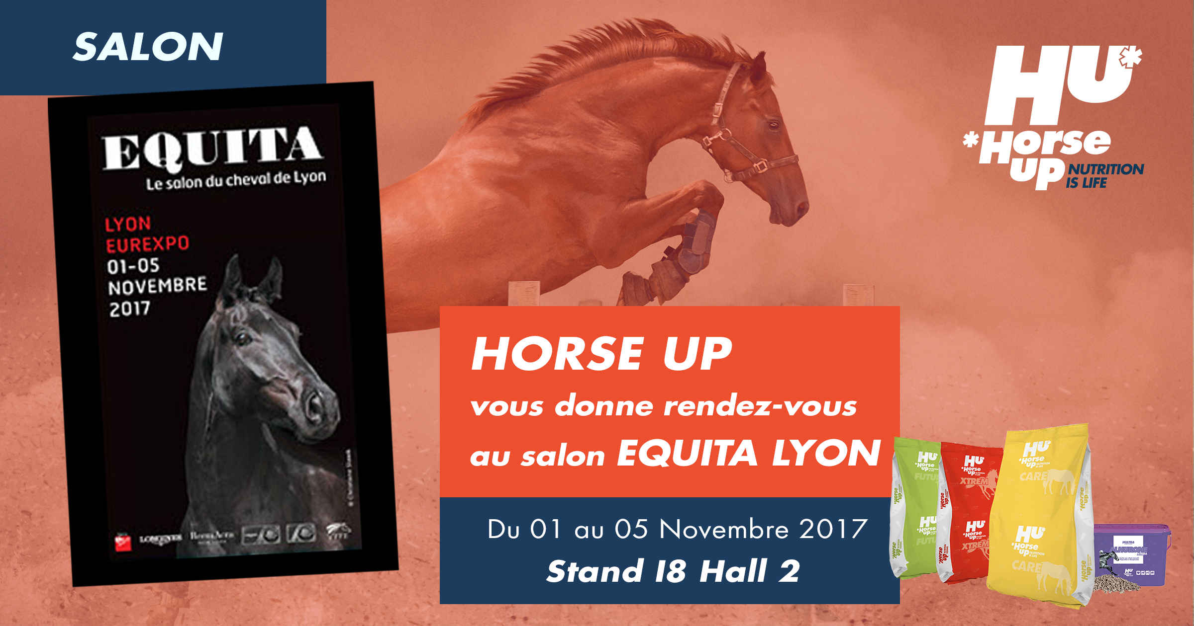 HORSE UP vous attend à Equita Lyon